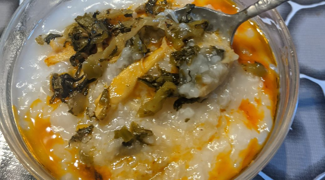 Dried Scallop (conpoy) Congee