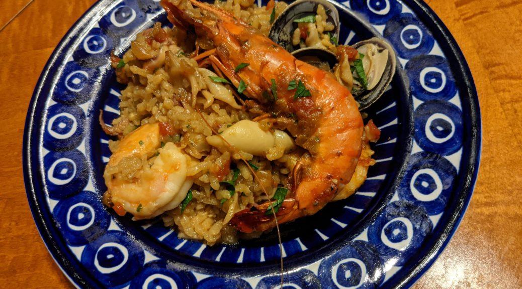 shellfish-paella